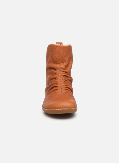 Boots en enkellaarsjes El Naturalista El Viajero NE13 C Bruin model