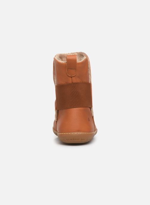 Ankle boots El Naturalista El Viajero NE13 C Brown view from the right