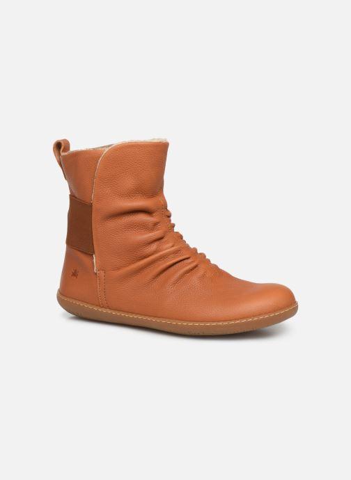 Boots en enkellaarsjes El Naturalista El Viajero NE13 C Bruin detail