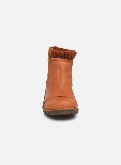 Bottines et boots El Naturalista Yggdrasil NE23 C Orange vue portées chaussures