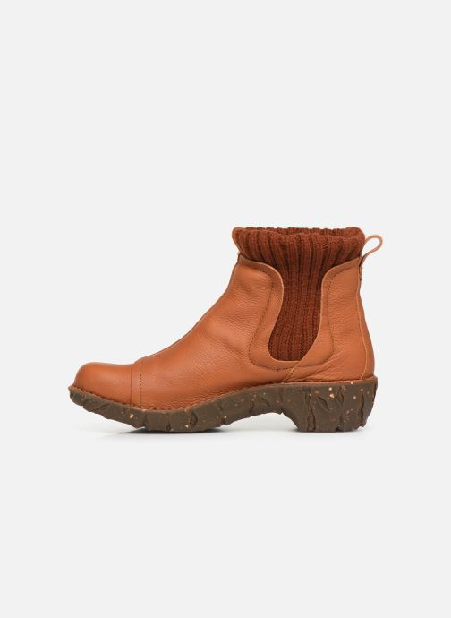 Ankle boots El Naturalista Yggdrasil NE23 C Orange front view