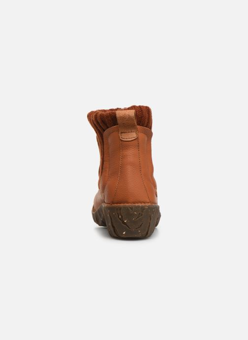 Ankle boots El Naturalista Yggdrasil NE23 C Orange view from the right