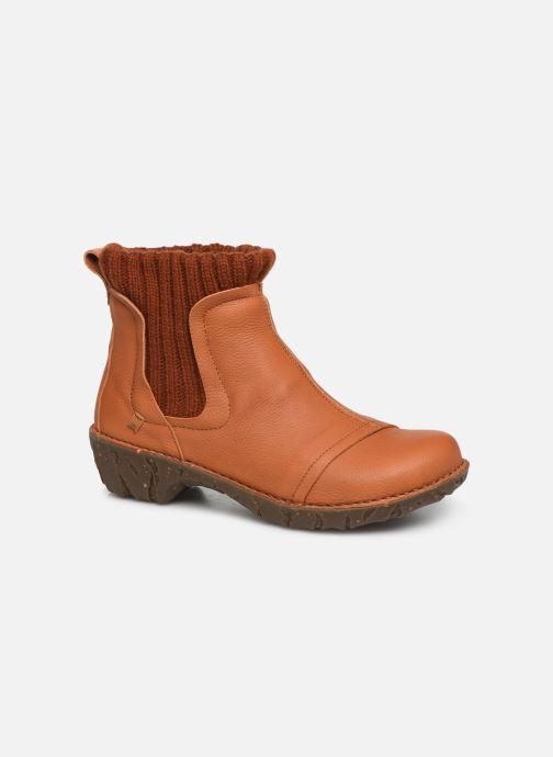 Ankelstøvler El Naturalista Yggdrasil NE23 C Orange detaljeret billede af skoene
