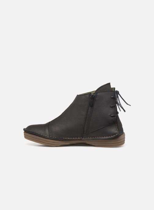 Ankle boots El Naturalista Rice Field NF82 C Black front view