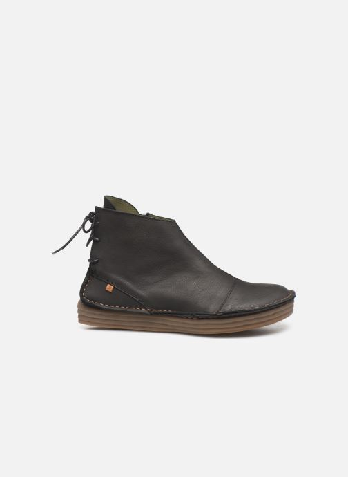 Ankle boots El Naturalista Rice Field NF82 C Black back view