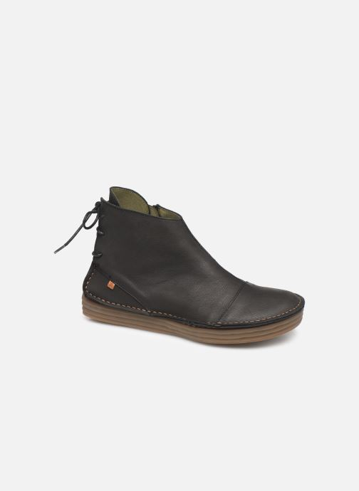 Ankle boots El Naturalista Rice Field NF82 C Black detailed view/ Pair view