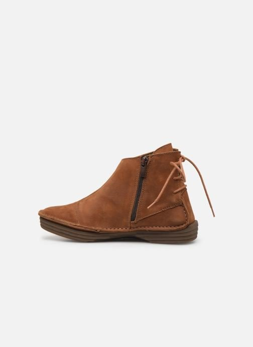 Ankle boots El Naturalista Rice Field NF82 C Brown front view