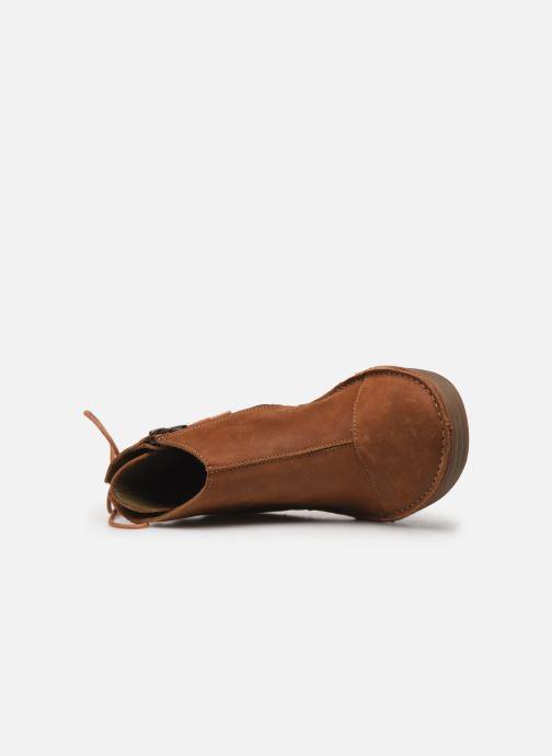 Boots en enkellaarsjes El Naturalista Rice Field NF82 C Bruin links