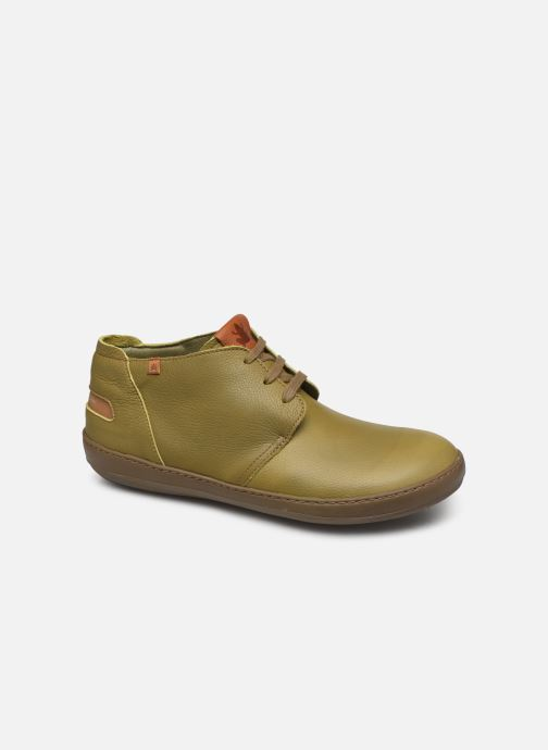 Lace-up shoes El Naturalista Meteo NF98 C Green detailed view/ Pair view