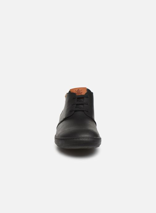 Lace-up shoes El Naturalista Meteo NF98 C Black model view
