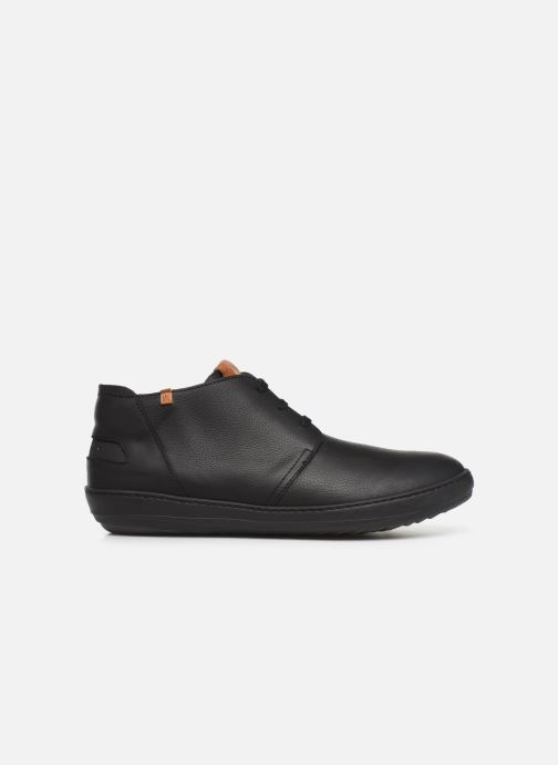 Lace-up shoes El Naturalista Meteo NF98 C Black back view