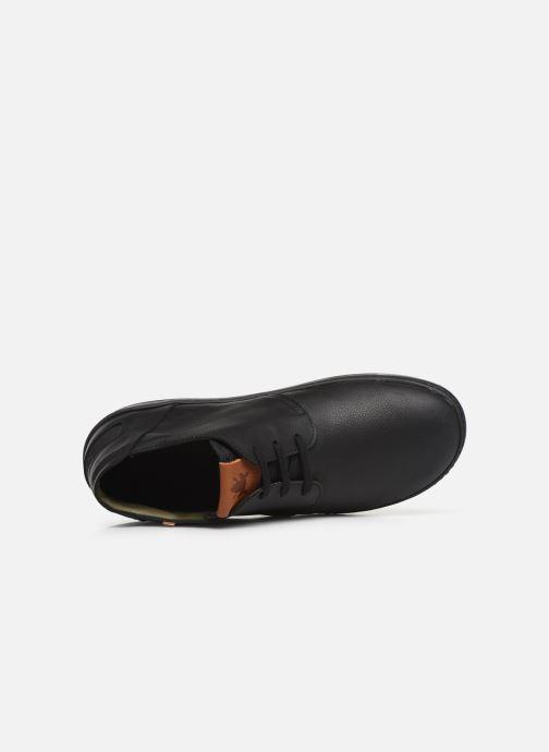 Chaussures à lacets El Naturalista Meteo NF98 C Noir vue gauche