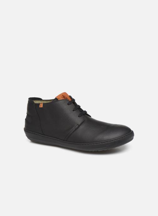 Chaussures à lacets El Naturalista Meteo NF98 C Noir vue détail/paire