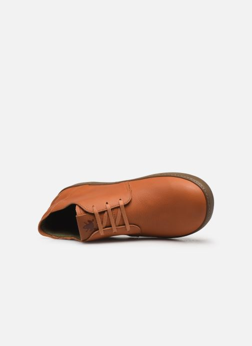 Lace-up shoes El Naturalista Meteo NF98 C Brown view from the left