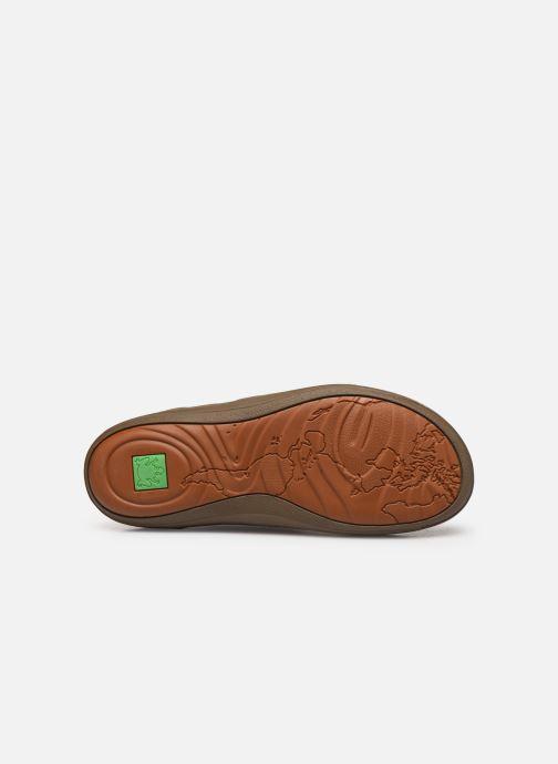 Chaussures à lacets El Naturalista Meteo NF98 C Marron vue haut