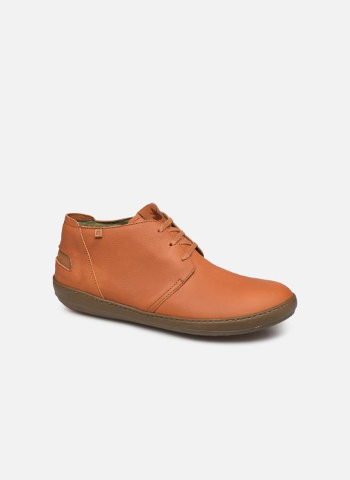 Lace-up shoes El Naturalista Meteo NF98 C Brown detailed view/ Pair view
