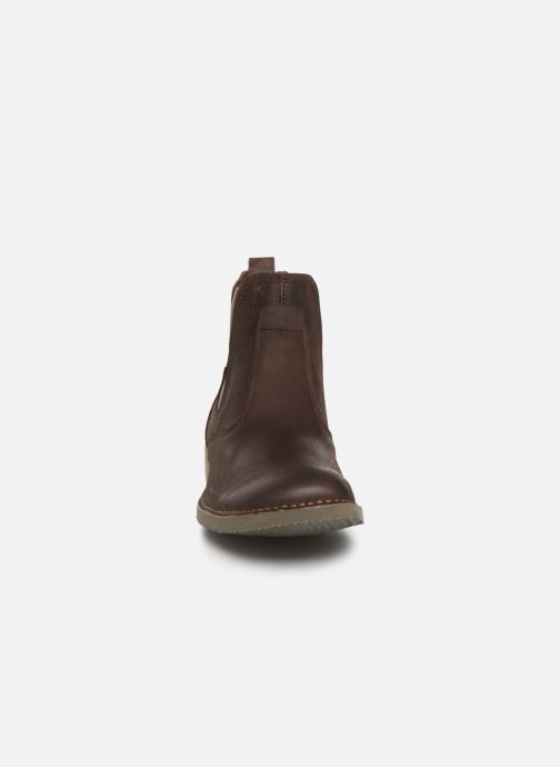 Ankle boots El Naturalista Yugen NG22 C Brown model view