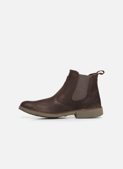 Ankle boots El Naturalista Yugen NG22 C Brown front view