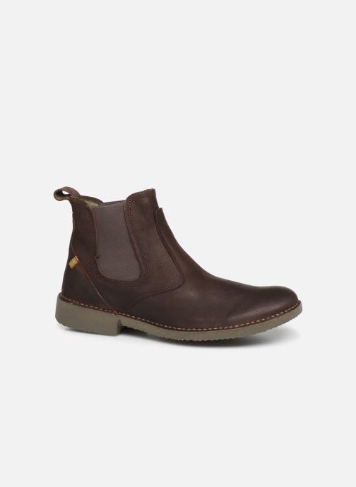 Ankle boots El Naturalista Yugen NG22 C Brown detailed view/ Pair view