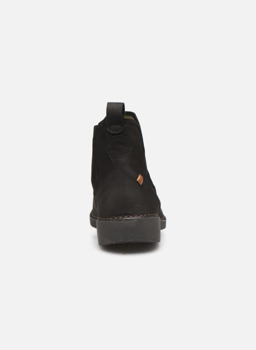 Ankle boots El Naturalista Yugen NG22 C Black view from the right