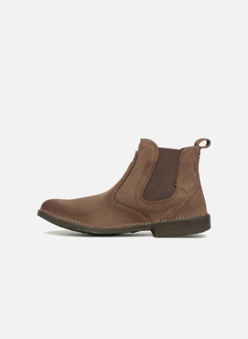 Bottines et boots El Naturalista Yugen NG24 C Marron vue face
