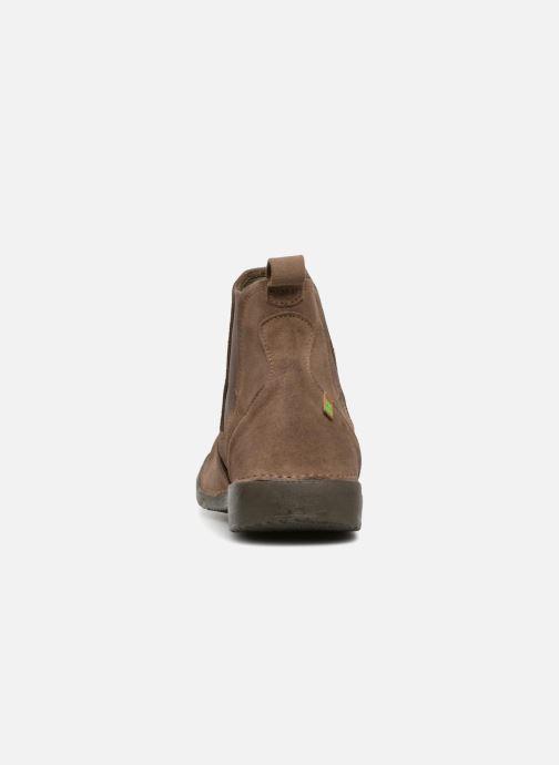 Bottines et boots El Naturalista Yugen NG24 C Marron vue droite