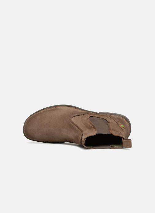 Bottines et boots El Naturalista Yugen NG24 C Marron vue gauche