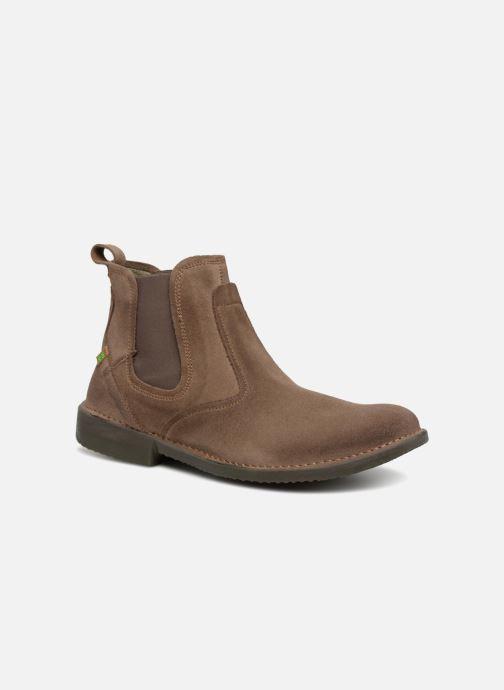 Bottines et boots El Naturalista Yugen NG24 C Marron vue détail/paire