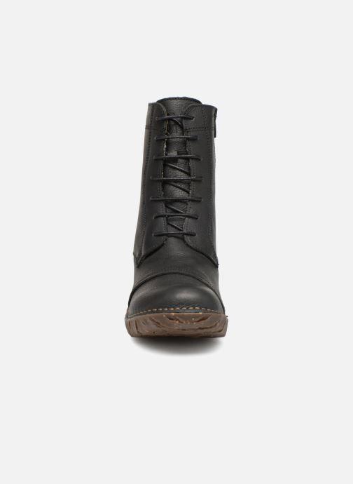 Stiefeletten & Boots El Naturalista Yggdrasil NG57T C schwarz schuhe getragen