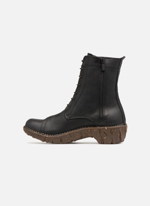 Stiefeletten & Boots El Naturalista Yggdrasil NG57T C schwarz ansicht von vorne