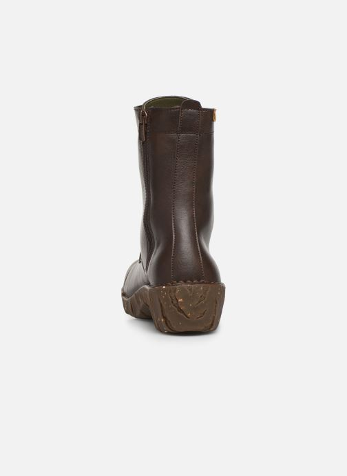 Ankle boots El Naturalista Yggdrasil NG57T C Brown view from the right
