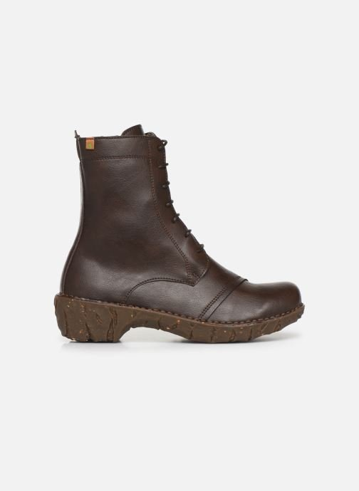 Ankle boots El Naturalista Yggdrasil NG57T C Brown back view
