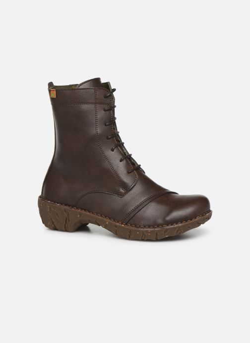 Ankle boots El Naturalista Yggdrasil NG57T C Brown detailed view/ Pair view