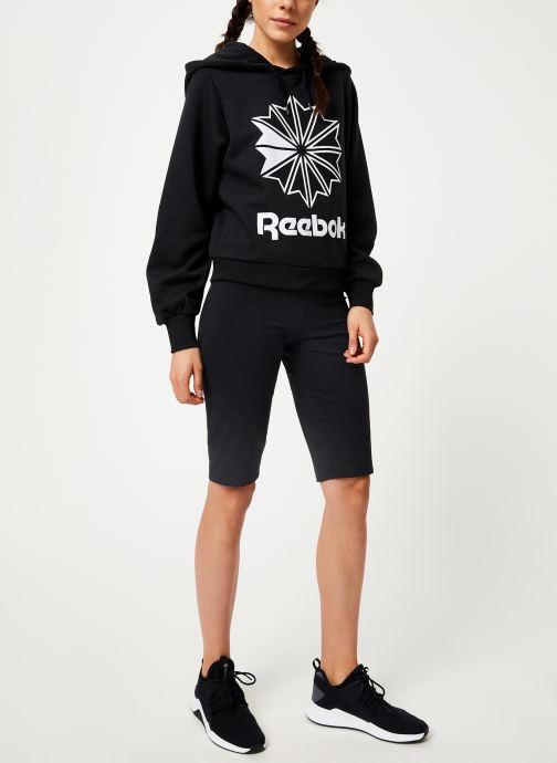 Reebok Sweatshirt hoodie - Cl Fl Big Logo Hoodi (Noir) - Vêtements (398360)
