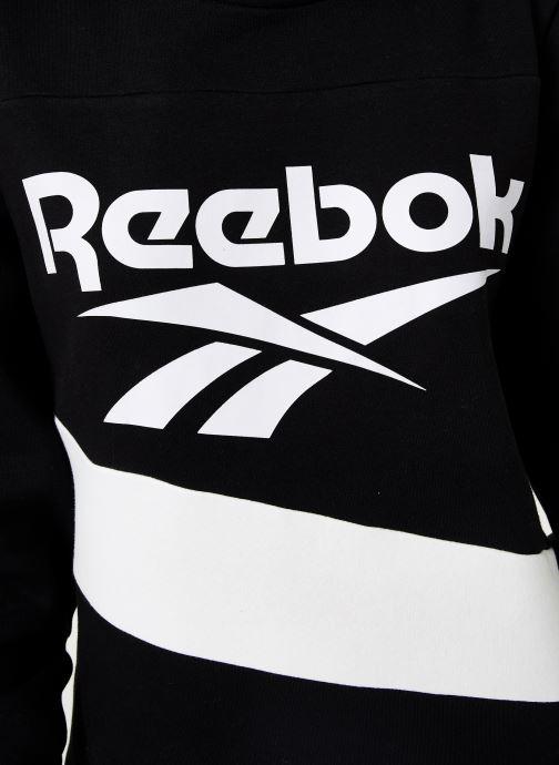 Vêtements Reebok Cl V P Hoodied Dress Noir vue face
