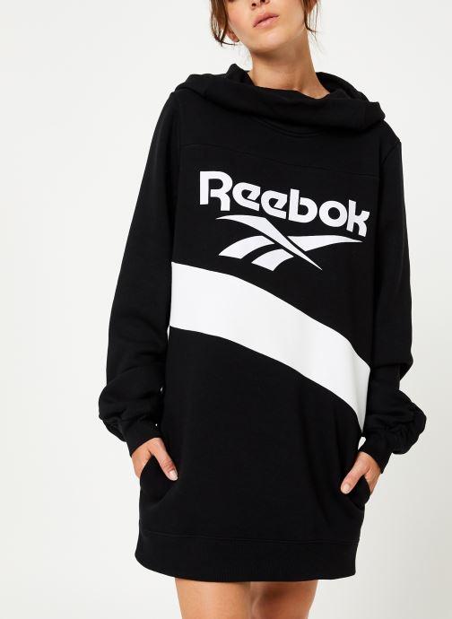Vêtements Reebok Cl V P Hoodied Dress Noir vue détail/paire
