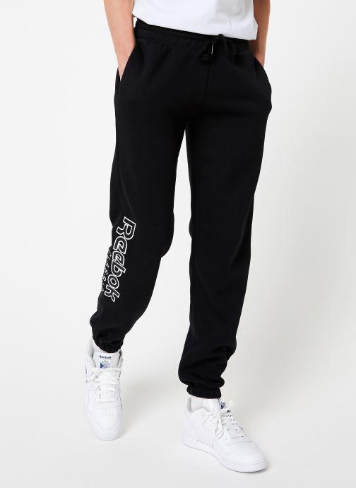 Vêtements Reebok Cl Fl Reebok Pant Noir vue détail/paire