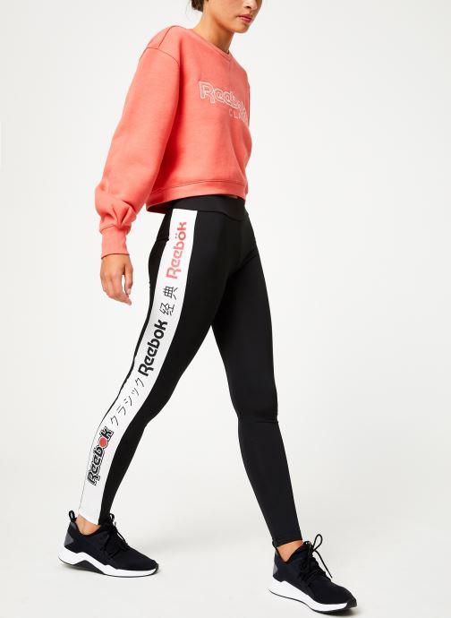 Vêtements Reebok Cl Gp Legging Noir vue bas / vue portée sac