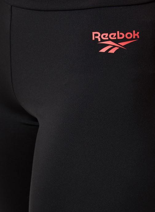 Kleding Reebok Cl Gp Legging Zwart voorkant