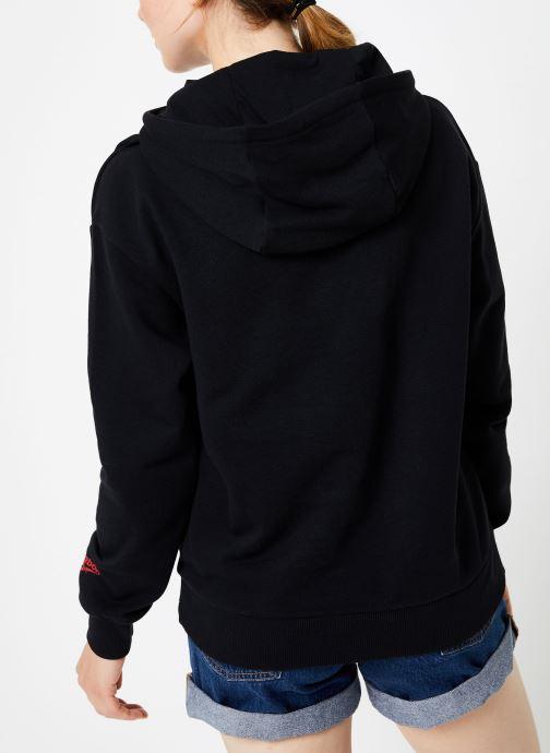 Kleding Reebok Cl Gp Hoodie Zwart model