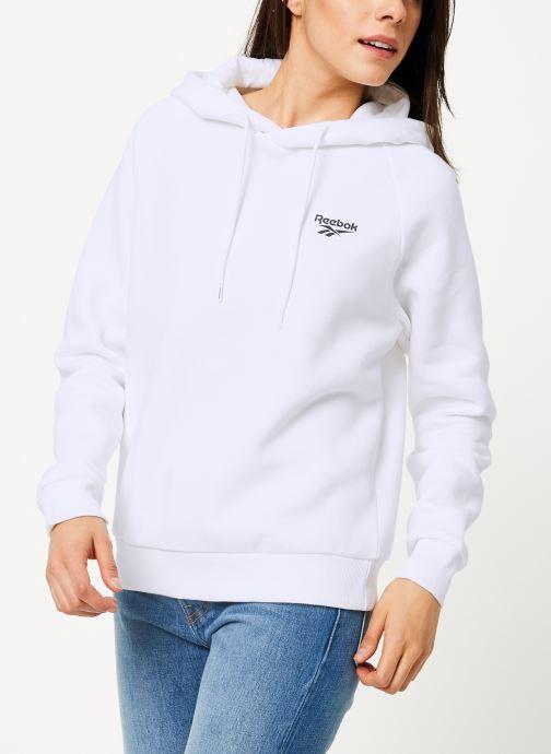 Vêtements Reebok Cl Gp Crop  Hoodie S Blanc vue détail/paire