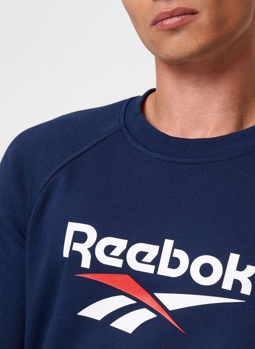 Vêtements Reebok Cl V Unisex Crew Bleu vue face