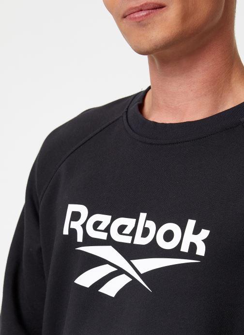Vêtements Reebok Cl V Unisex Crew Noir vue face