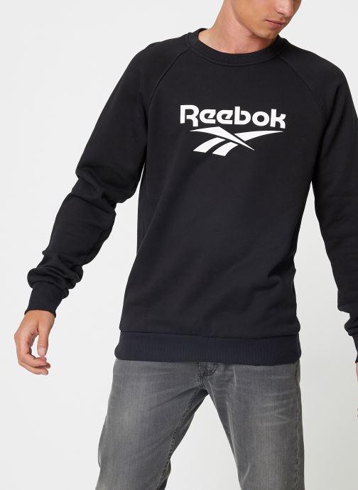 Vêtements Reebok Cl V Unisex Crew Noir vue droite