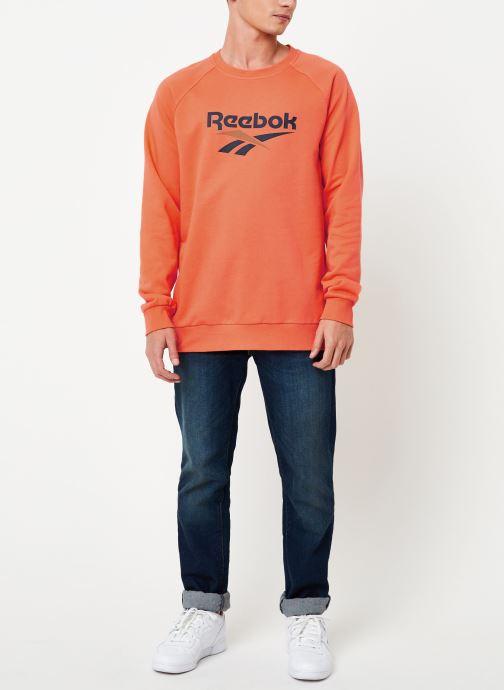 Vêtements Reebok Cl V Unisex Crew Orange vue bas / vue portée sac