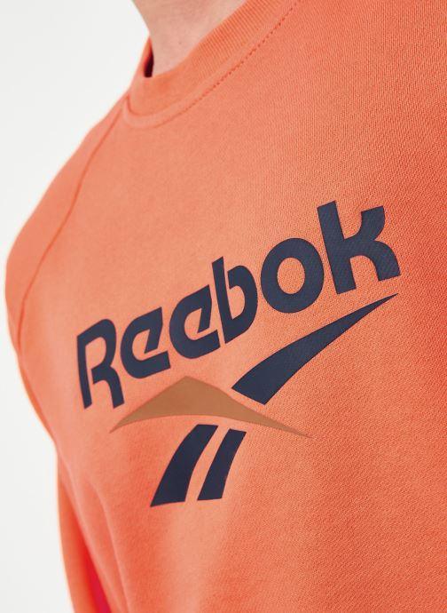 Vêtements Reebok Cl V Unisex Crew Orange vue face