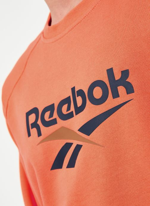 Vêtements Reebok Cl V Unisex Crew Orange vue face