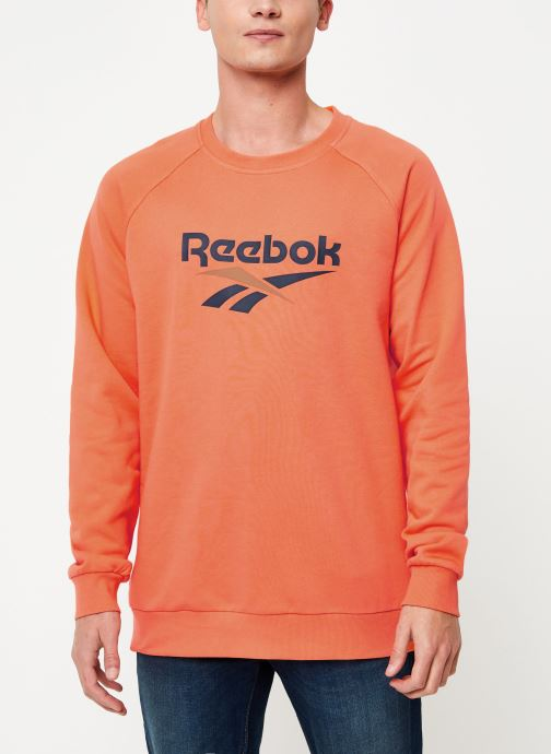 Vêtements Reebok Cl V Unisex Crew Orange vue droite