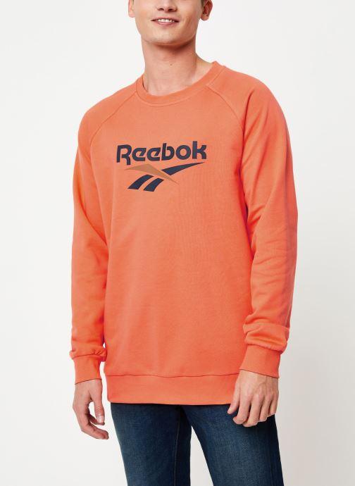 Vêtements Reebok Cl V Unisex Crew Orange vue détail/paire