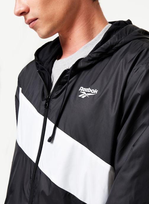 Reebok Sweatshirt hoodie - Cl V P Windbreaker (Noir) - Vêtements chez Sarenza (398397) cr1YS
